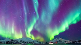 NORTHERN LIGHTS ANGELS CHERUBIM FOUR LIVING BEINGS OF GOD
