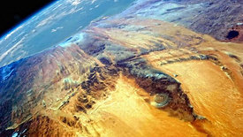 ATLANTIS in The Sahara, Africa? - The Lost City of Atlantis - Hidden in Plain Sight. 'The Eye of the Sahara'  or 'Richat Structure' - by BRIGHT INSIGHT