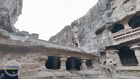 Kailasa Temple, India.  Mysterious Ellora Caves  Ancient Megaliths