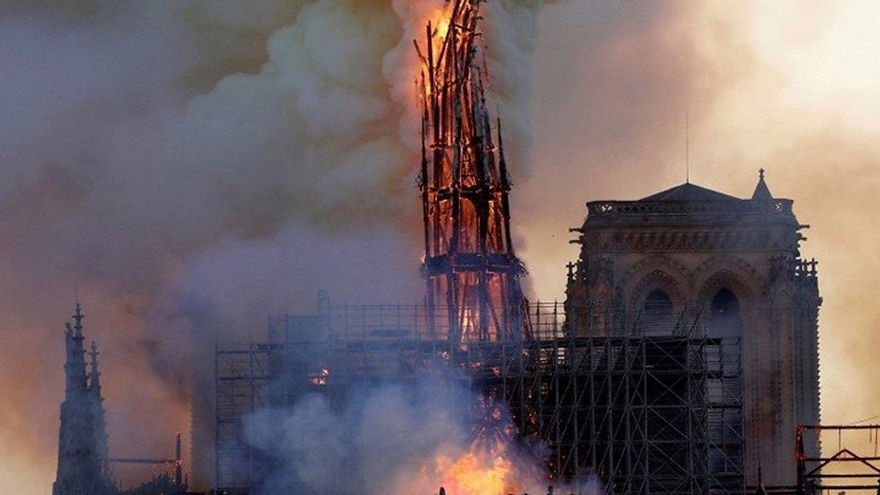 French President Emmanuel Macron Wants To Rebuild Notre Dame 'Modern' & 'Diverse' 'Multi-Cultural Center' COINCIDENCE?  Minerets, Mosques & Mecca