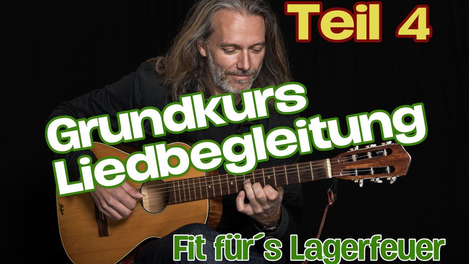 Grundkurs Liedbegleitung / Teil 4 / Barrégriffe