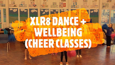 XLR8 DANCE + WELLBEING (CHEER CLASSES) 16 SECS