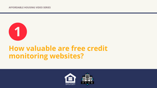 How valuable are free credit monitoring websites?