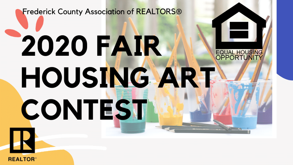2020 Fair Housing Art Contest Winners