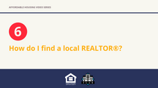 How do I find a local REALTOR®?