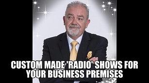 CUSTOM MADE 'RADIO' SHOW