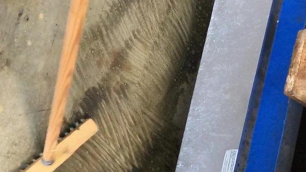 Werkstattböden reinigen mit OLMO Lisan