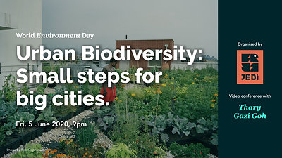 Urban Biodiversity: Small steps for big cities.