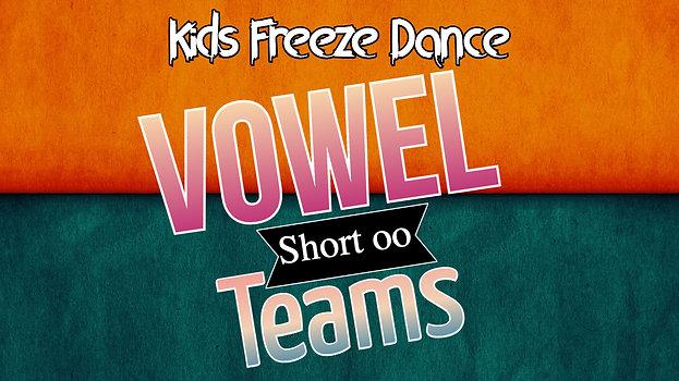 Vowel Teams Short oo