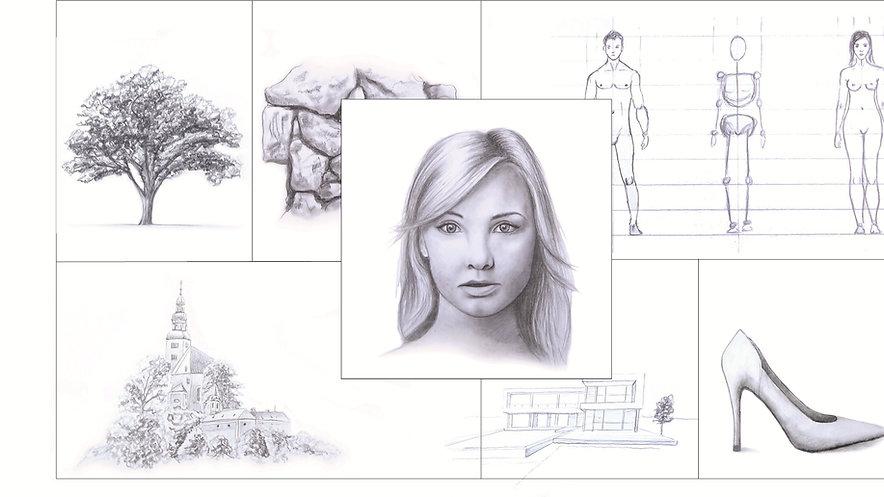 Der komplette Zeichenkurs - ganz einfach Zeichnen lernen