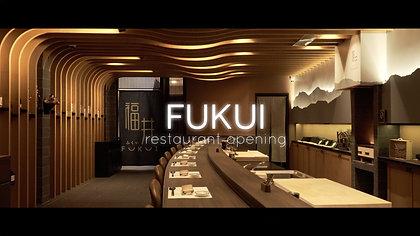 Fukui Restaurant Promo