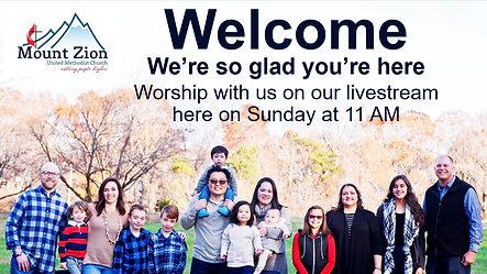 11 AM Worship Livestream