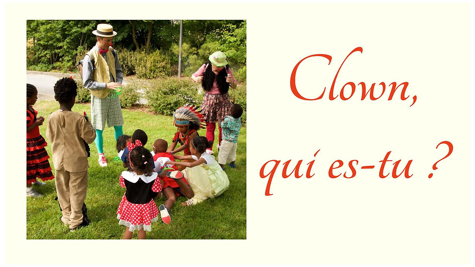 Clown qui-es-tu ?