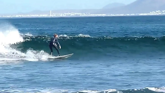 Costanza surf with OGC surf school Fureteventura