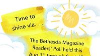 """BEST OF BETHESDA"" VOTE CAMPAIGN, SEPT 2021"