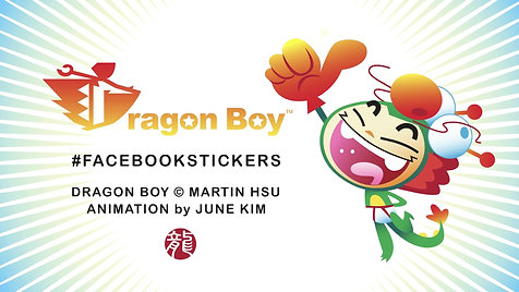 Promotional Video for Dragon Boy Facebook Stickers