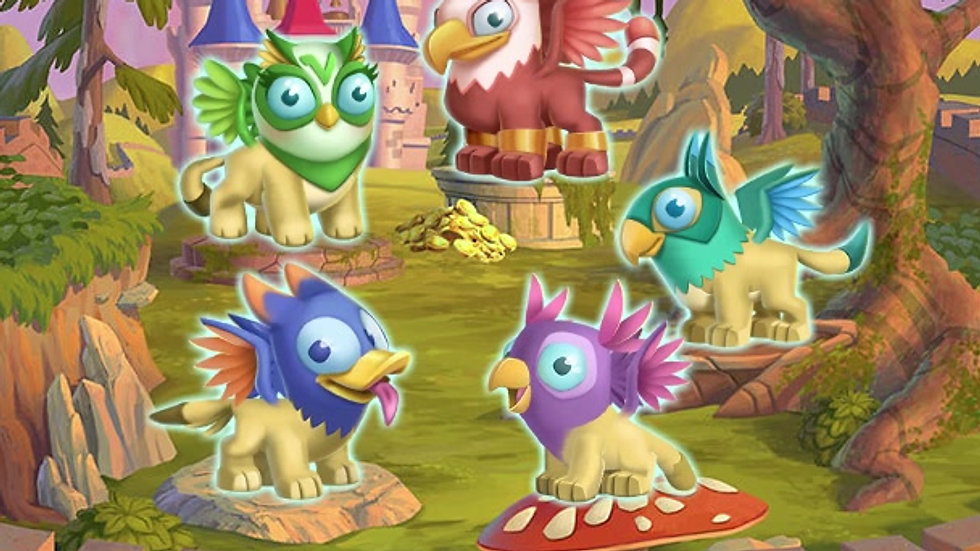 Mythical Creatures _ Griffins