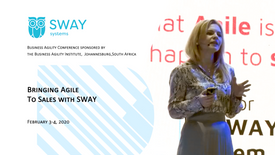 February 3-4, 2020 «Bringing Agile To Sales with SWAY»