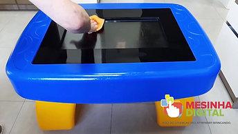 Mesinha Digital - limpeza com álcool 70