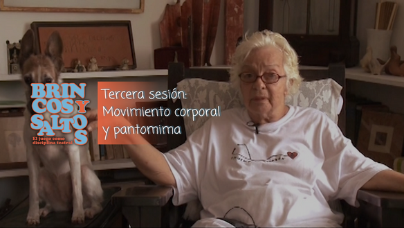 Tercera sesión: movimiento corporal y pantomima