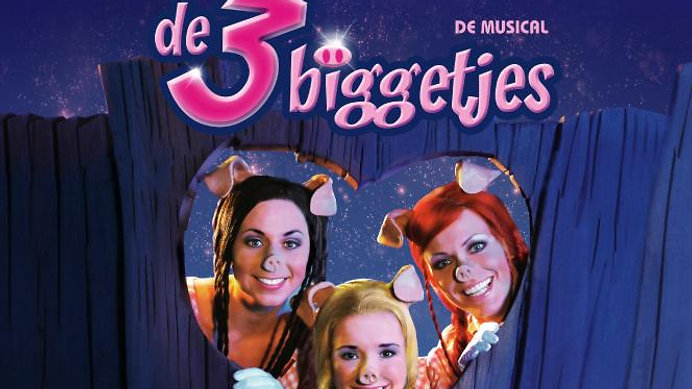 De 3 Biggetjes, de Musical