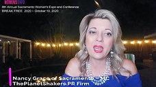 Sacramento Women's Expo 2020 ~ Nancy Grace of Sacramento