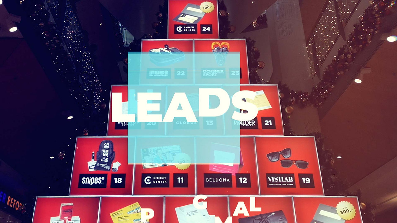 digitaler Adventskalender - Leadmaschiene