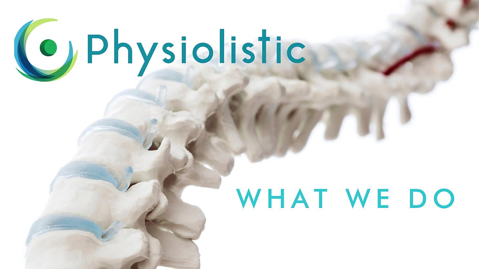 Discover what we do at Physiolistic.