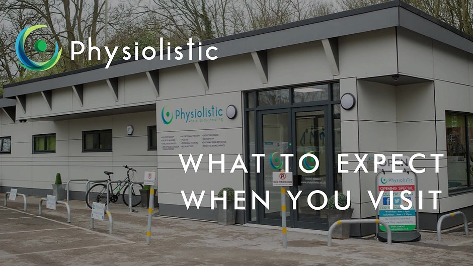 Your Visit to Physiolistic