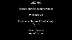 Fundamentals of Conducting. Part 2