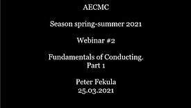 Fundamentals of Conducting. Part 1