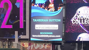 Client on Times Square Billboard