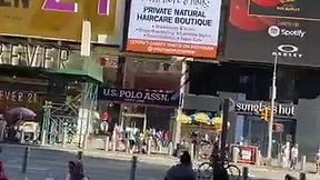Faith, Hope & Hair Times Square Billboard Ad