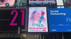 Artist Billboard in Times Square