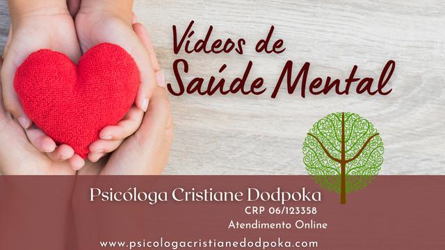 Vídeos de Saúde Mental