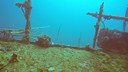 Safety Diver on the Haliburton Wreck