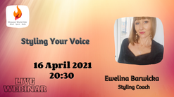 Styling your voice