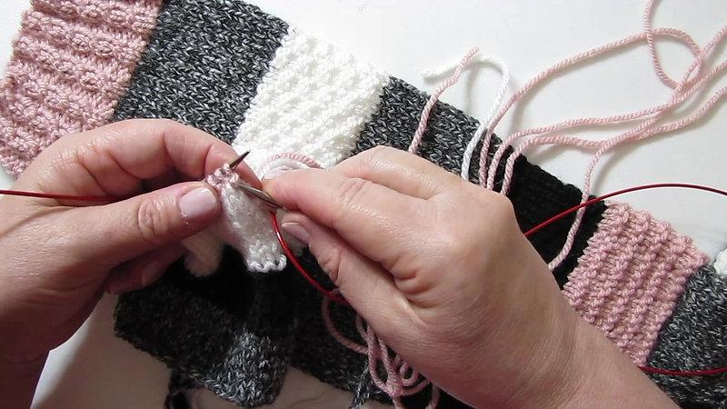 Comment tricoter les rayures sans décalage