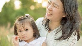 BTS: Agnes's outdoor family portrait session