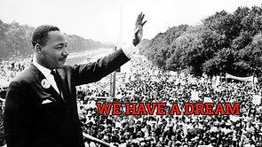 We Have A Dream #BlackLivesMatter