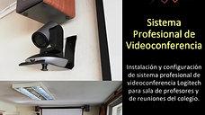 Sala de Videoconferencia Colegio