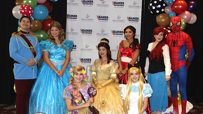 Acadiana Princess Parties by Peekaboo Faces