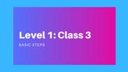 Level 1: Class 3