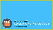 Online level 1 - Class 1