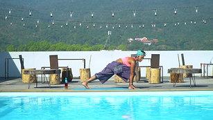 10 Min. Yoga Class Filmed in Thailand
