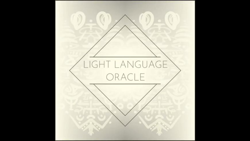 Light Language Oracle Cards