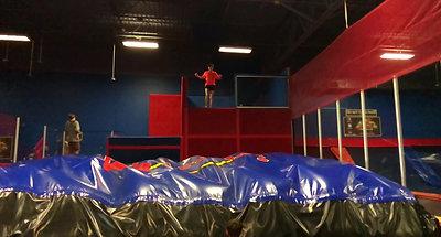 Jump Split Kick