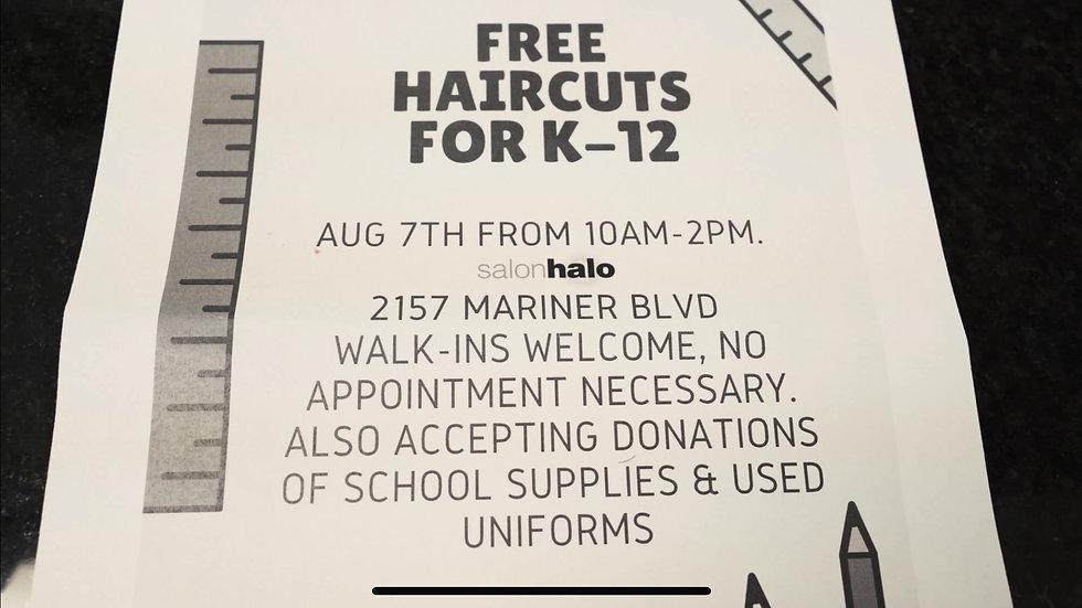 Free cuts 4 Kids
