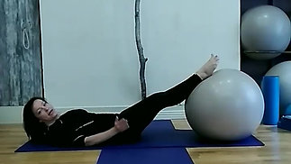Shoulder Bridge on the Big Ball