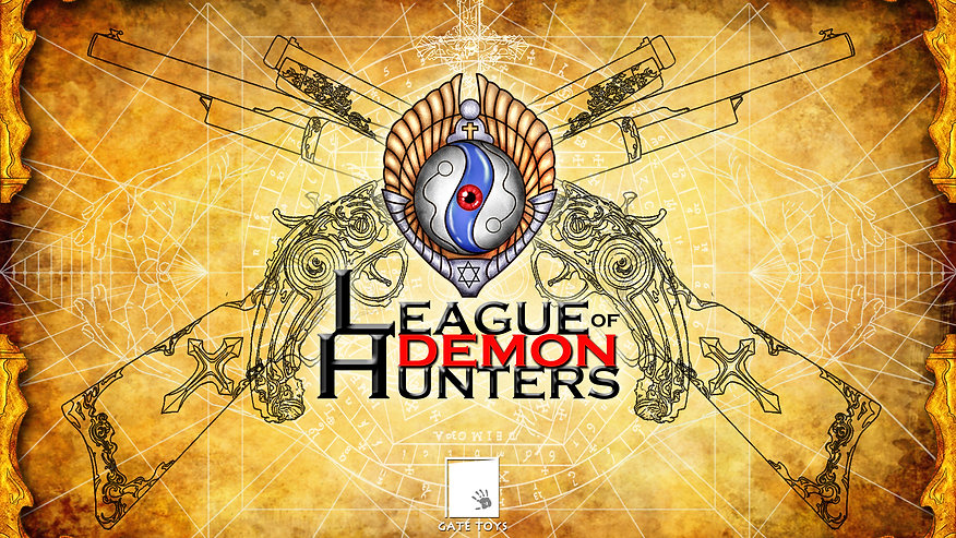 GATE TOYS Original Design League Of Demon Hunters